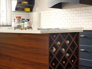PingPong Atelier Furniture Kitchen units Copper/Bronze/Brass Grey