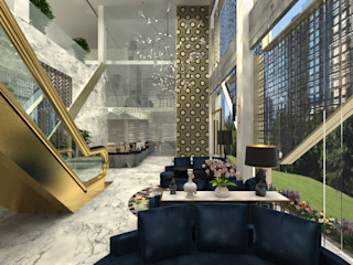 Modern Luxurious Glamour Commercial Mall inDfinity Design (M) SDN BHD