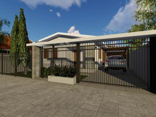Reforma de residência Cláudia Legonde Casas familiares Pedra Branco