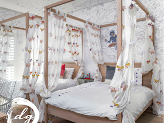 Using White As Base Color In This Gorgeous Kids Room Deborah Garth Interior Design International (Pty)Ltd Nursery/kid's room Wood White