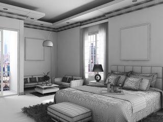 A.BORNACELLI Dormitorios modernos