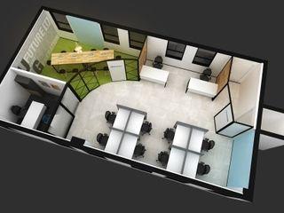 아임커뮤니케이션즈 Modern office buildings