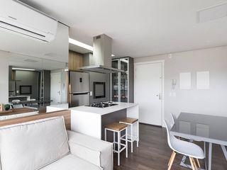 Rabisco Arquitetura Armários de cozinha Granito Branco