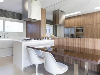 Rabisco Arquitetura Cozinhas modernas Vidro Transparente