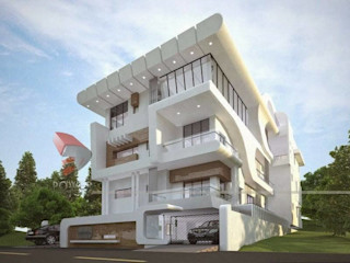 Modern House Designs S.R. Buildtech – The Gharexperts Modern Houses