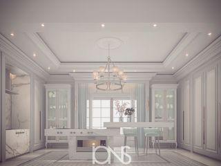 Sleek and Pristine Grey – White Kitchen Design Ideas IONS DESIGN Kitchen Marble White