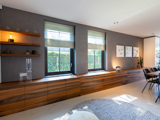Aangenaam Interieuradvies Modern living room Metal Wood effect