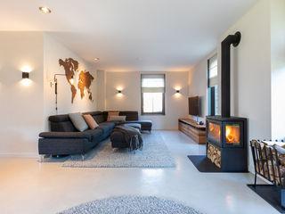 Aangenaam Interieuradvies Modern living room Iron/Steel Grey