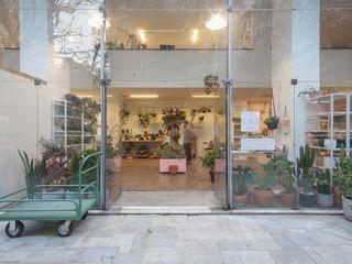 Loja Higienópolis 3JP Engenharia Lojas & Imóveis comerciais minimalistas Vidro Transparente