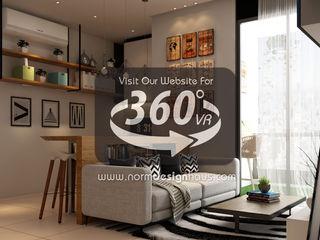 Norm designhaus Ruang Keluarga Gaya Skandinavia