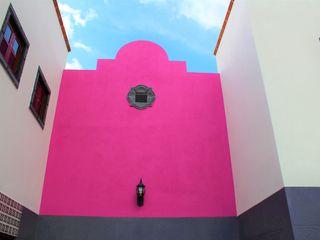 Itech Kali منزل عائلي صغير الخرسانة Pink