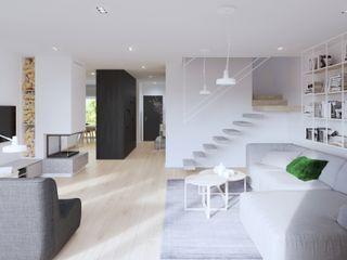 SARNA ARCHITECTS Interior Design Studio Stairs