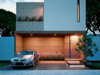 Stuen Arquitectos Rumah tinggal Kayu Wood effect