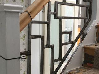 Metal Stairs ZENTIA Corridor, hallway & stairs Stairs Metal Grey