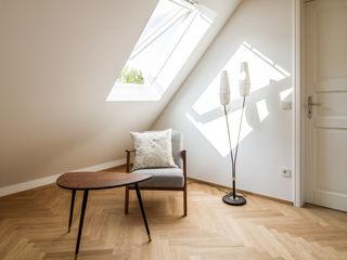 Haus fs1 Fiedler + Partner Skandinavische Arbeitszimmer