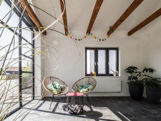 Haus fs1 Fiedler + Partner Skandinavischer Wintergarten