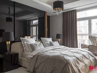Art-In Industrial style bedroom
