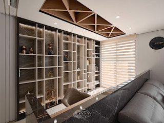 四象限 層層室內裝修設計有限公司 書房/辦公室