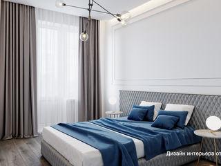 Suiten7 Klasik Yatak Odası Orta Yoğunlukta Lifli Levha Mavi