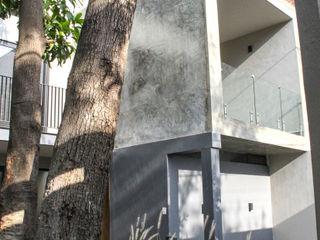 Remodelacion San Antonio INDICO Casas unifamiliares Concreto Gris
