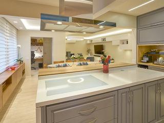 Concept Engenharia + Design CocinasElectrodomésticos Granito Blanco