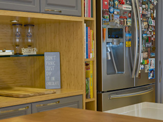 Concept Engenharia + Design Cocinas modernas: Ideas, imágenes y decoración Madera Gris