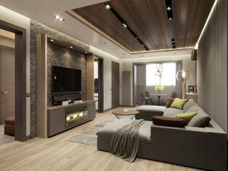 EJ Studio Modern Living Room
