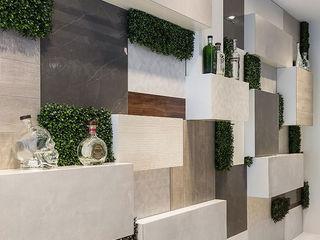 Wonder Wall - Jardins Verticais e Plantas Artificiais Murs & Sols modernes