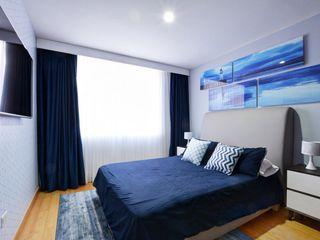 Natalia Mesa design studio Modern style bedroom