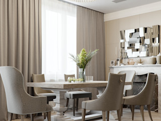 EJ Studio Eclectic style dining room