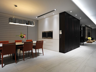黃耀德建築師事務所 Adermark Design Studio Minimalist dining room