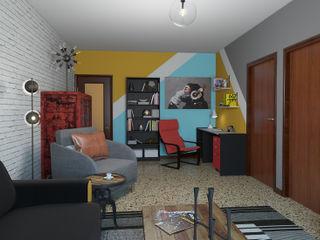 Pop Art Studio homify Eklektik Çalışma Odası