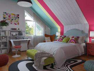 Dormitorio Pop Art - ecléctico homify Dormitorios de estilo ecléctico
