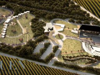 Stuen Arquitectos Taman Gaya Eklektik Batu Green
