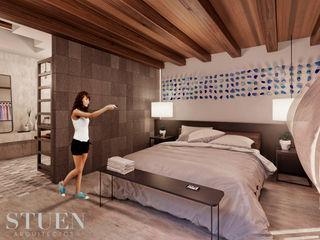 Stuen Arquitectos BedroomAccessories & decoration Batu Wood effect
