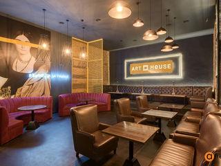 Artichok Design Bar & Klub Gaya Industrial Brown