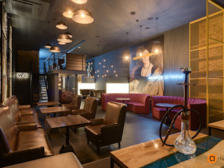 Artichok Design Bar & Klub Gaya Industrial