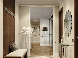 EJ Studio Modern Corridor, Hallway and Staircase