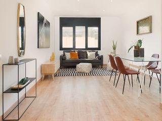 Markham Stagers Ruang Keluarga Gaya Skandinavia