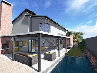 HOUSE 1418 ENDesigns Architectural Studio Patios