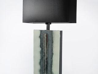 Edyta Baranska Design Living roomLighting Glass Grey