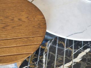 BODRUMBODRUM Esra Kazmirci Mimarlik Living roomSide tables & trays Marble Black
