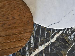 BODRUMBODRUM Esra Kazmirci Mimarlik Living roomSide tables & trays Wood Brown