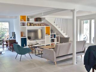 Rénovation Maison Sarah Archi In' Salon moderne