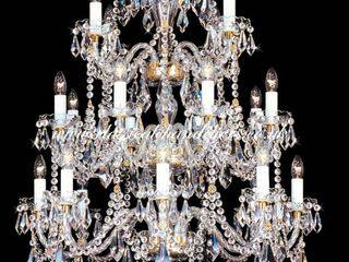 Classical Chandeliers Oturma OdasıIşıklandırma