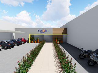 Detalhe Arquitetura e Engenharia Modern offices & stores