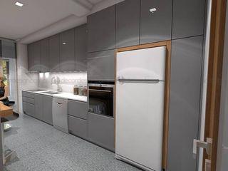 Decordesign Interiores КухняШафи і полиці