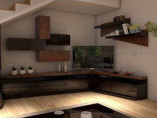 Decordesign Interiores ВітальняПідставки для телевізорів та шафи