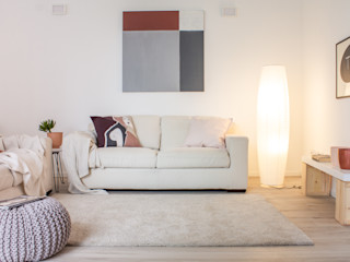 Boite Maison 现代客厅設計點子、靈感 & 圖片