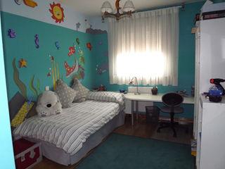 Almudena Madrid Interiorismo, diseño y decoración de interiores Recámaras para niños Azul